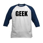 GEEK (Bold) Kids Baseball Jersey