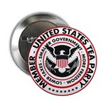 "Tea Party 2.25"" Button (100 pack)"