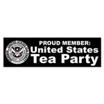 Tea Party Sticker (Bumper 10 pk)