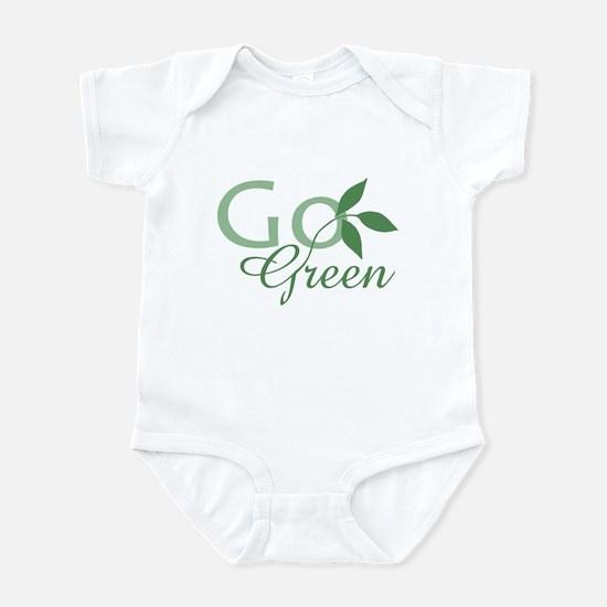 Go Green: Infant Bodysuit