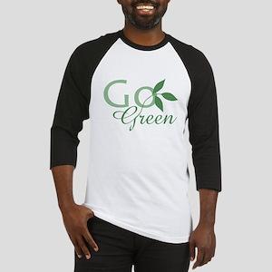Go Green: Baseball Jersey