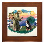 St Francis #2/ BMD Framed Tile