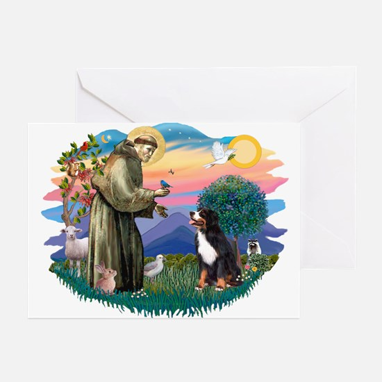 St Francis #2/ BMD Greeting Cards (Pk of 10)