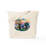 St Francis #2/ BMD Tote Bag