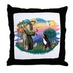 St Francis #2/ BMD Throw Pillow