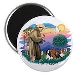 St Francis #2/ Cavaliers Magnet