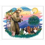 St Francis #2/ Cavaliers Small Poster