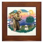 St Francis #2/ Cairn T (#14) Framed Tile