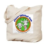 Goats Chewing Gum Tote Bag