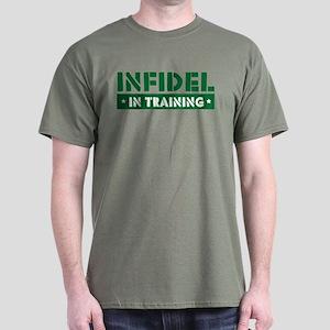 Infidel in Training Dark T-Shirt