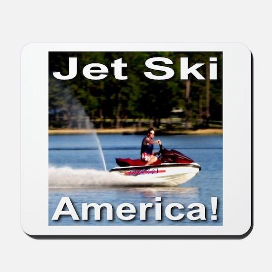 Jet Ski America Mousepad