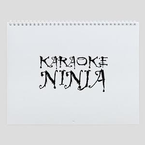 Karaoke Ninja Wall Calendar