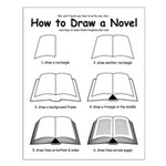 How to Draw a Novel - Small Poster