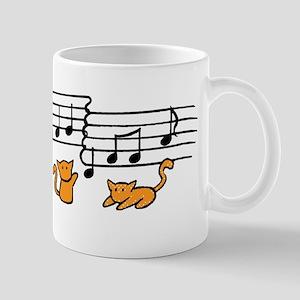 Orange Kitty Notes Mug