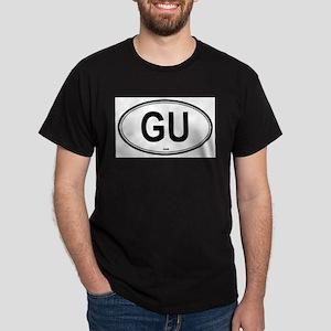 Guam (GU) euro Ash Grey T-Shirt
