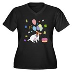 JRT Happy Birthday Gifts Women's Plus Size V-Neck
