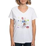 JRT Happy Birthday Gifts Women's V-Neck T-Shirt