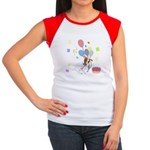 JRT Happy Birthday Gifts Women's Cap Sleeve T-Shir