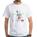 JRT Happy Birthday Gifts White T-Shirt