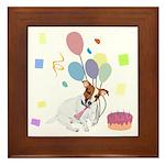 JRT Happy Birthday Gifts Framed Tile