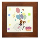 JRT Happy Birthday Gifts Framed Tile