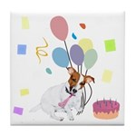 JRT Happy Birthday Gifts Tile Coaster