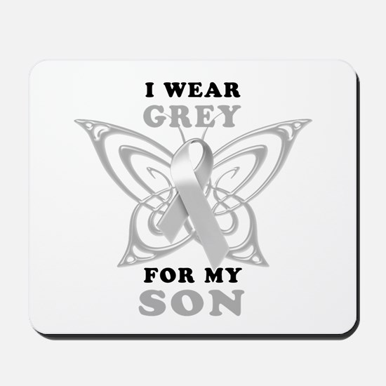 I Wear Grey for my Son Mousepad