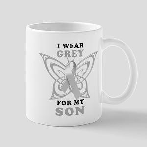 I Wear Grey for my Son Mug