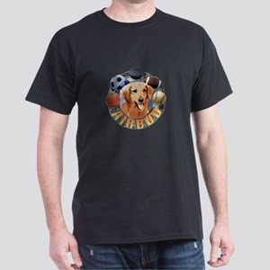 Air Bud Logo Dark T-Shirt