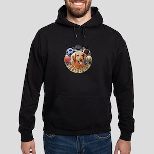 Air Bud Logo Hoodie (dark)