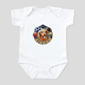 Air Bud Logo Infant Bodysuit