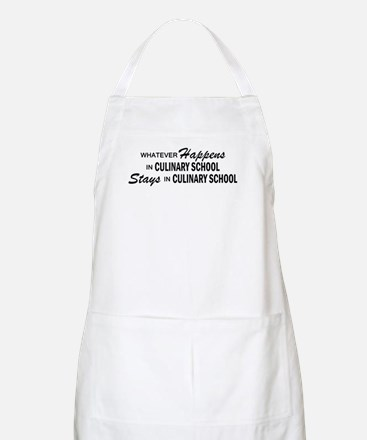 Whatever Happens - Culinary School Apron