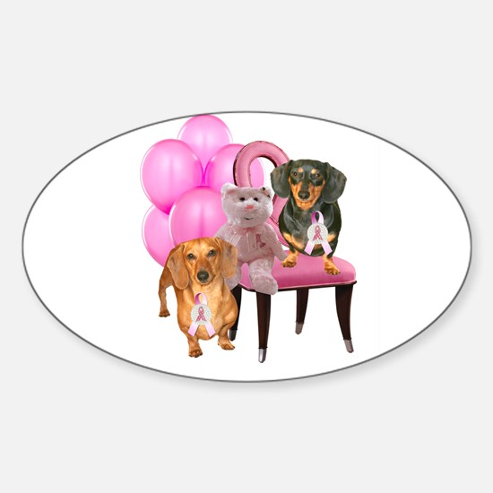 Cure Doxies Sticker (Oval)