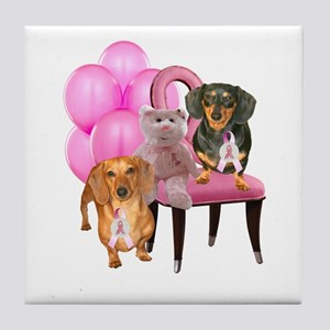 Cure Doxies Tile Coaster