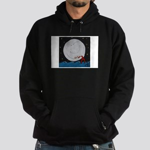 The Mermaid and The Moon Hoodie (dark)