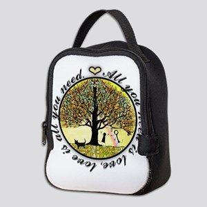 Tree of Life All You Need is Love Neoprene Lunch B