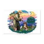 St Francis #2/ Aus Shep (red) Mini Poster Print