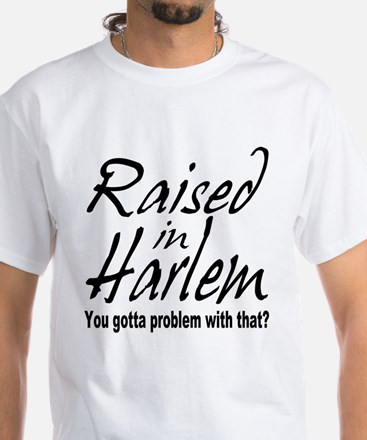 Harlem, new york White T-Shirt