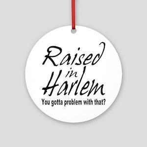 Harlem, new york Ornament (Round)