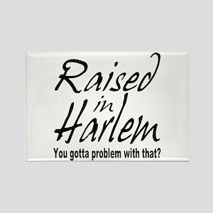 Harlem, new york Rectangle Magnet