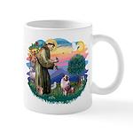 St Francis #2/ Aus Shep (merle) Mug