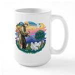 St Francis #2/ Am Eskimo (2) Large Mug