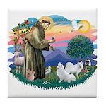 St Francis #2/ Am Eskimo (2) Tile Coaster