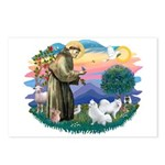 St Francis #2/ Am Eskimo (2) Postcards (Package of