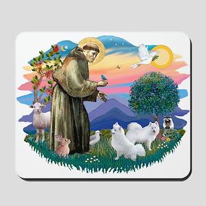 St Francis #2/ Am Eskimo (2) Mousepad