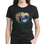 St Francis #2/ Am Eskimo (2) Women's Dark T-Shirt