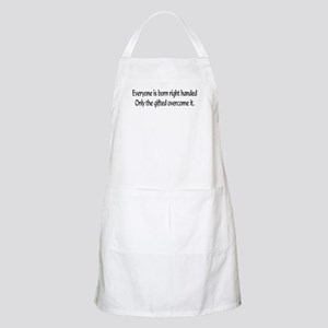 Everyone is born .... BBQ Apron