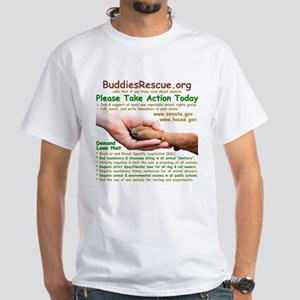 Take Action - White T-Shirt
