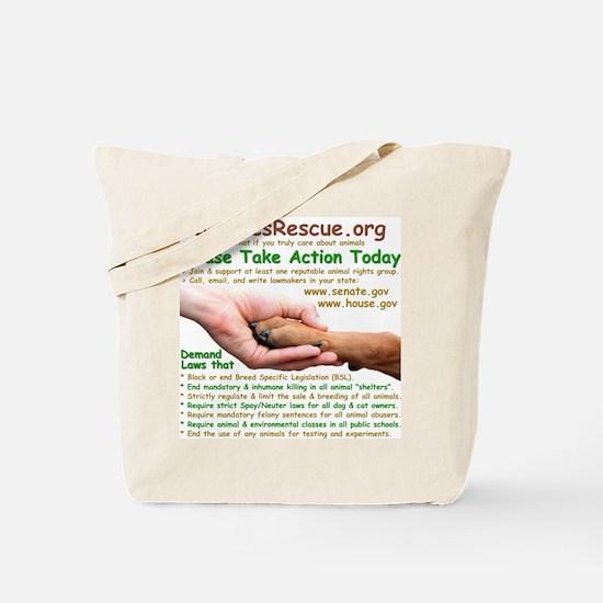 Take Action - Tote Bag