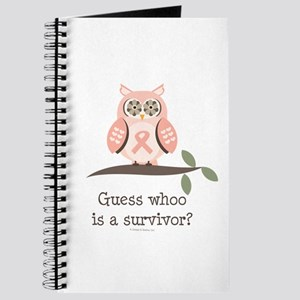 Pink Ribbon Owl Survivor Journal